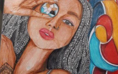 Galeria obrazów naszej nastoletniej artystki!