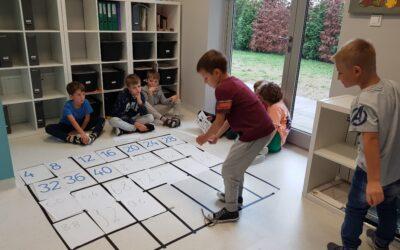 Gra matematyczna w klasie IIA