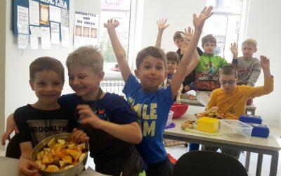 Warsztaty kulinarne – klasy II