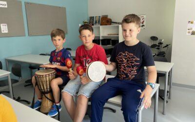 Zajęcia muzyczne w Magellanie